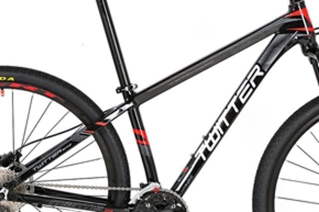 Bicicleta Twitter Bikes Aro 29 Susp. Dianteira 27 Marchas - Preto/vermelho