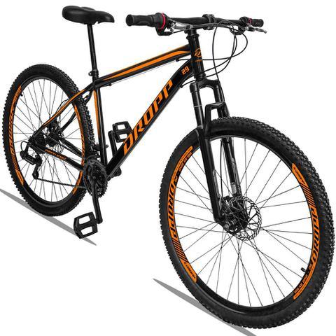Imagem de Bicicleta Aro 29 Dropp Sport 21v c/ Suspensão Freio a Disco