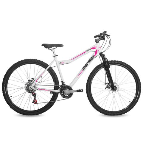 Bicicleta Mormaii Fantasy Aro 29 Susp. Dianteira 21 Marchas - Branco