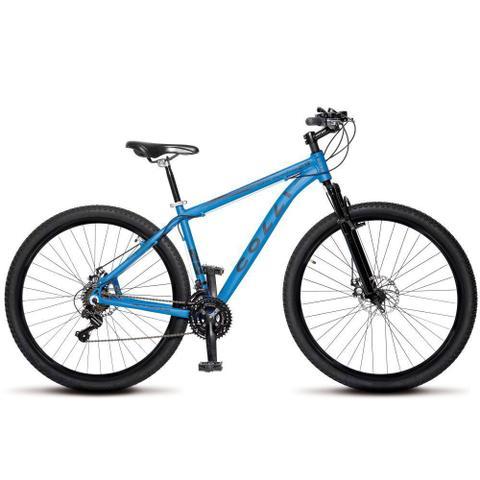 Imagem de Bicicleta Aro 29 Freio a Disco Shimano MTB Alumínio Azul Fosco - Colli Bikes