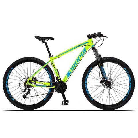 Imagem de Bicicleta Aro 29 Quadro 15 Alumínio 27 Marchas Freio Disco Hidráulico Z3-X Amarelo/Azul - Dropp