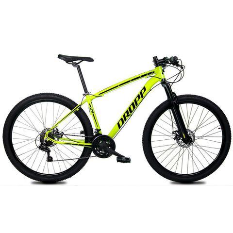 Imagem de Bicicleta Aro 29 Quadro 17 Alumínio 21 Marchas Freio Disco Mecânico Z1-X Amarelo - Dropp