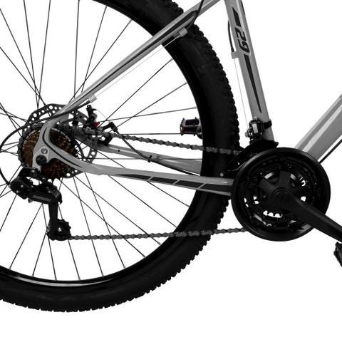 Imagem de Bicicleta Aro 29 Quadro 17 Alumínio 21 Marchas Freio Disco Mecânico Z1-X Cinza/Preto - Dropp