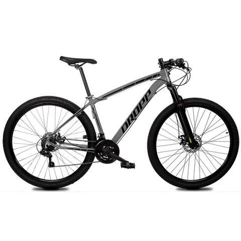 Imagem de Bicicleta Aro 29 Quadro 19 Alumínio 21 Marchas Freio Disco Mecânico Z1-X Cinza/Preto - Dropp