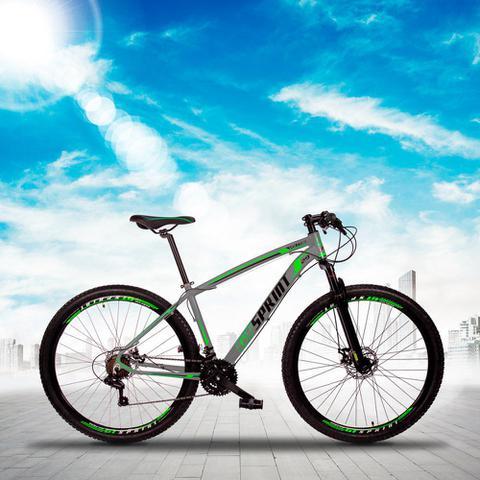 Imagem de Bicicleta Aro 29 Quadro 19 Alumínio 21v Câmbio Tras. Shimano Freio Mecânico Volcon Cinza - GT Sprint