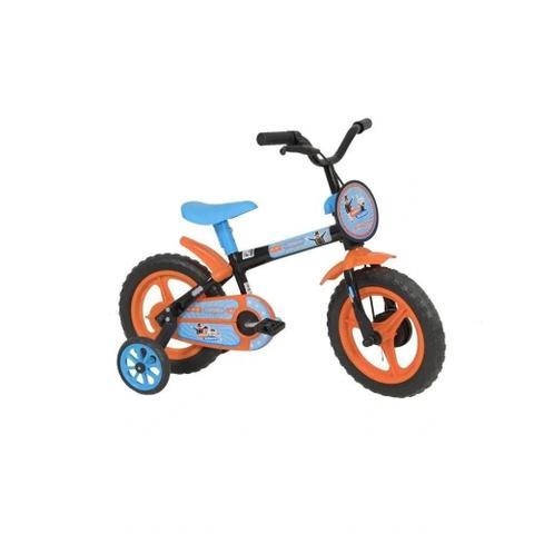 Bicicleta Athor Bike Mundo Mágico Aro 12 Rígida 1 Marcha - Laranja/preto