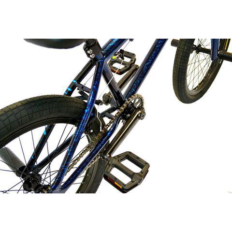 Imagem de BICICLETA BMX ARO 20x21 BURN  X-1 - SPLASH PT/AZ