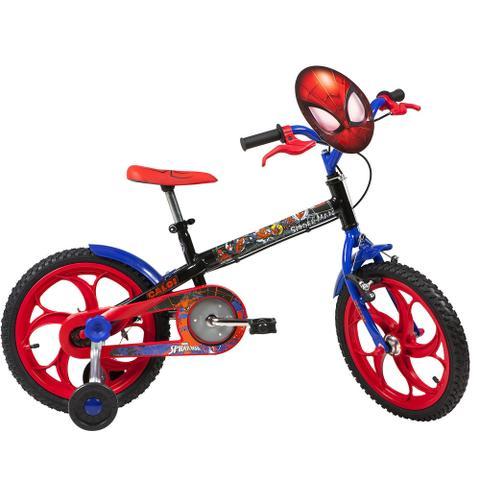 Imagem de Bicicleta Caloi Spider Man Aro 16 Preta