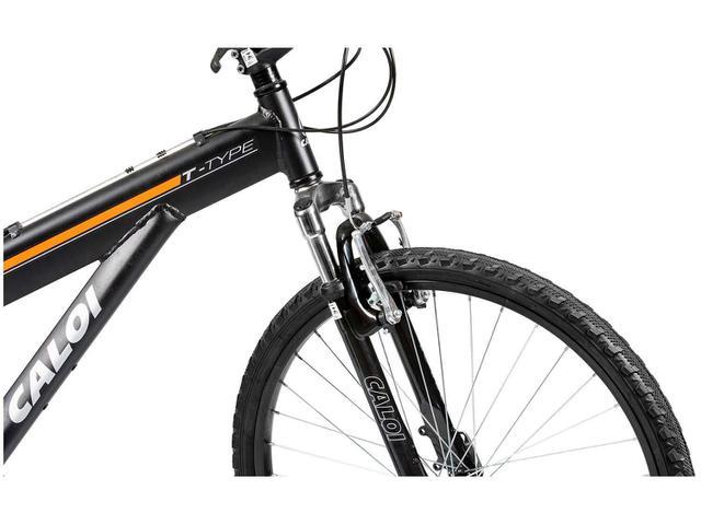 Imagem de Bicicleta Caloi T-Type Aro 26 21 Marchas Suspensão