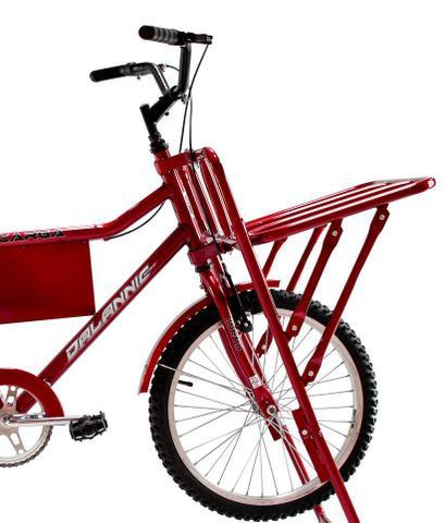 Imagem de Bicicleta Carga Aro 26 Vermelha - Dalannio Bike