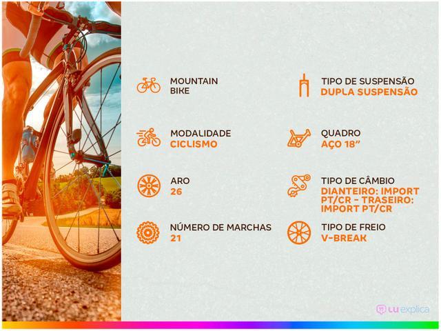 Imagem de Bicicleta Colli Bike GPS Pro Aro 26 21 Marchas