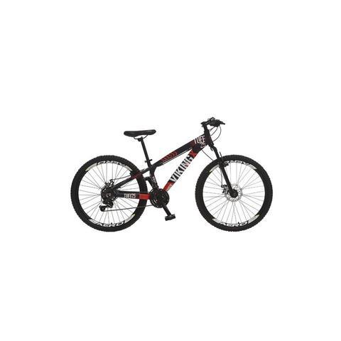 Imagem de Bicicleta Colli Viking Kit Shimano Aro 26 Freio a Disco 21M - 260 - Roxo/Laranja