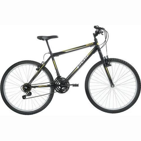 Imagem de Bicicleta Delta MTB Aro 26 V-Brake Preta 18v