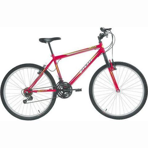 Imagem de Bicicleta Delta MTB Aro 26 V-Brake Vermelha 18v