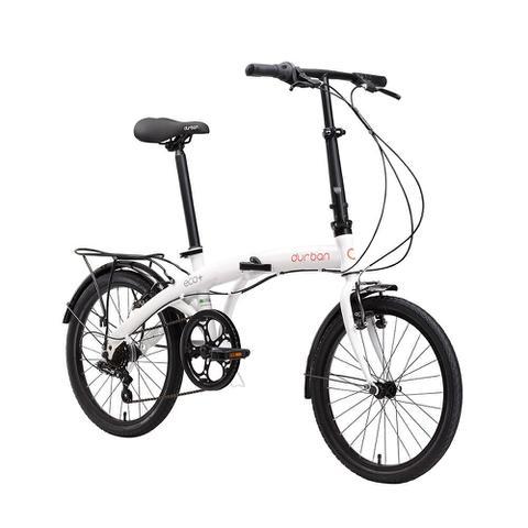 Imagem de Bicicleta dobrável branca - ECO+