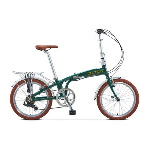 Imagem de Bicicleta Dobrável Durban 6 Vel. Shimano Sampa Pro Verde