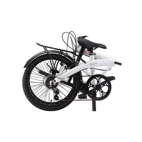 Imagem de Bicicleta Dobrável Durban Aro 20 6 Vel. Shimano Eco+ Branco