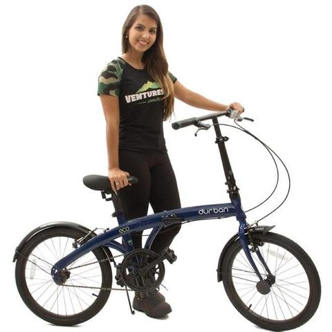 Imagem de Bicicleta Dobrável DURBAN Eco Azul
