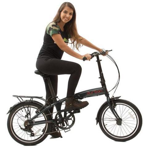 Imagem de Bicicleta Dobrável DURBAN Sampa Pro Azul
