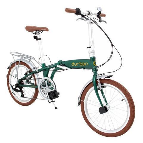 Imagem de Bicicleta Dobrável DURBAN Sampa Pro Verde