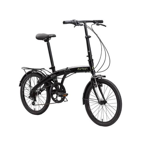 Imagem de Bicicleta Dobrável Eco+ Aro 20 6 Marchas Preta Durban