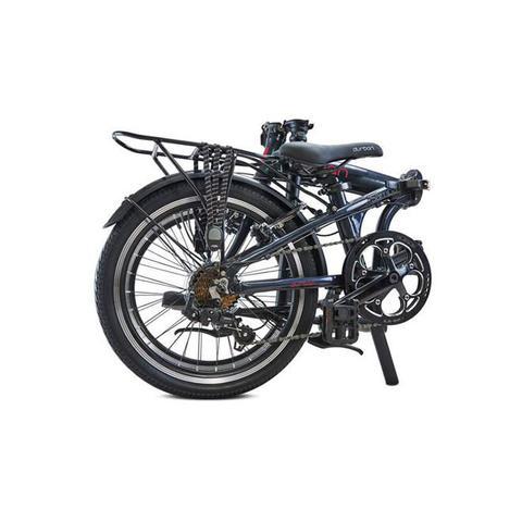 Imagem de Bicicleta Dobrável Sampa Pro Aro 20 6 Marchas Azul Durban