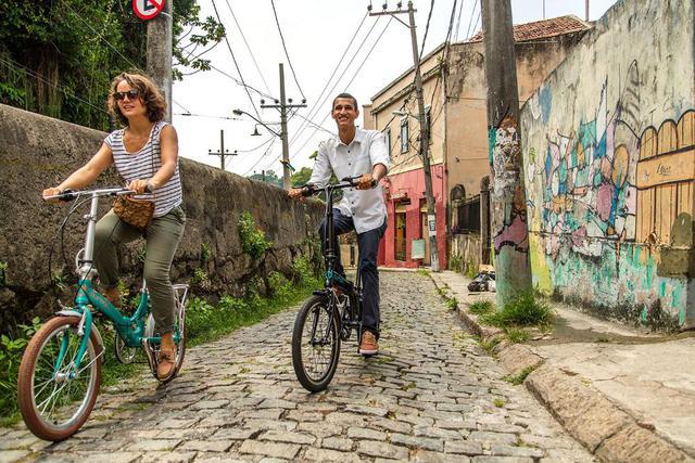 Imagem de Bicicleta Dobravel Sampa Pro Verde - Durban