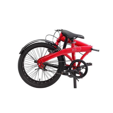 Imagem de Bicicleta dobrável vermelha - ECO