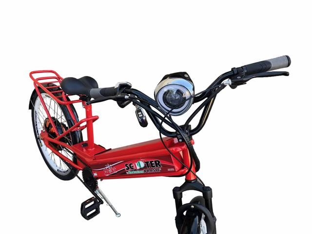 Imagem de Bicicleta Elétrica 850w Scooter Brasil Daytona Vermelha