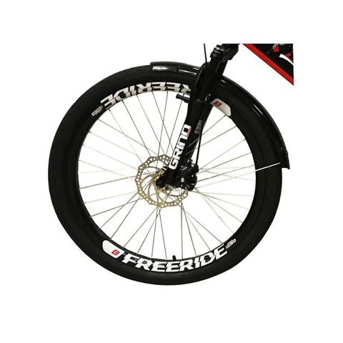 Imagem de Bicicleta Elétrica Confort FULL 800W 48V 15Ah Cor Vermelha
