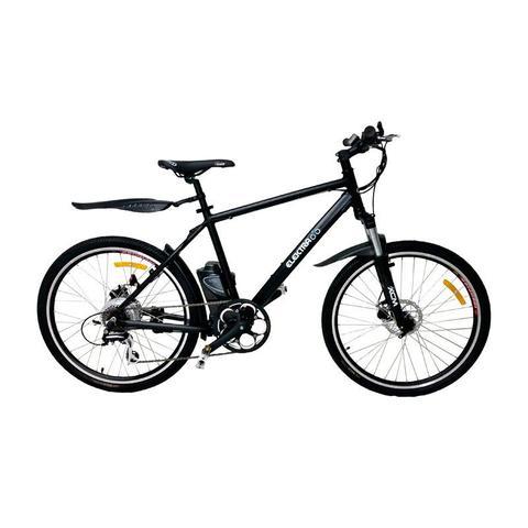 Imagem de Bicicleta Elétrica ElektraBikes Sport Aro 26 com Suspensão Dianteira e Freios A Disco Preta