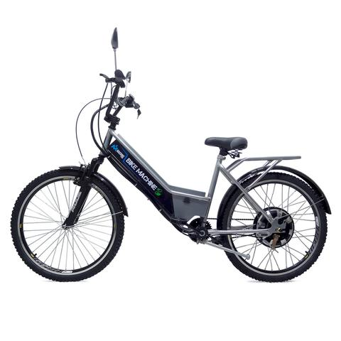 Imagem de Bicicleta Elétrica Machine Motors Basic 800W 48V Prata