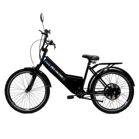 Imagem de Bicicleta Elétrica Machine Motors Basic 800W 48V Preta