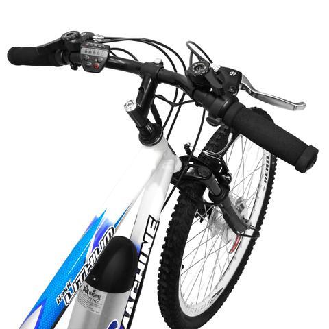 Imagem de Bicicleta Elétrica Machine Motors Basic Lithium 350w 36v Azul/Branco