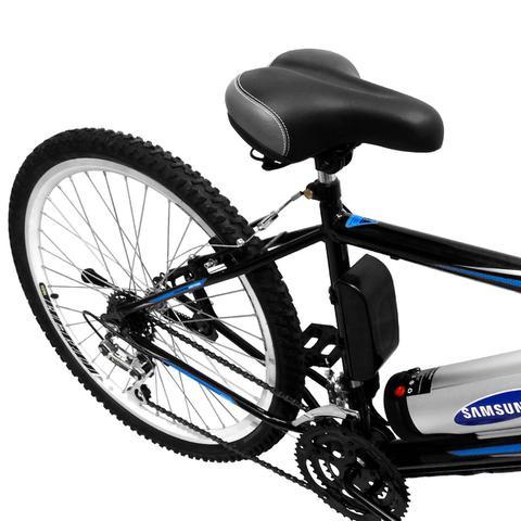 Imagem de Bicicleta Elétrica Machine Motors Basic Lithium 350W 36V Preto/Preto