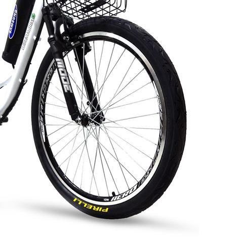 Imagem de Bicicleta Elétrica Machine Motors Deluxe Lithium 350W 36V Branca