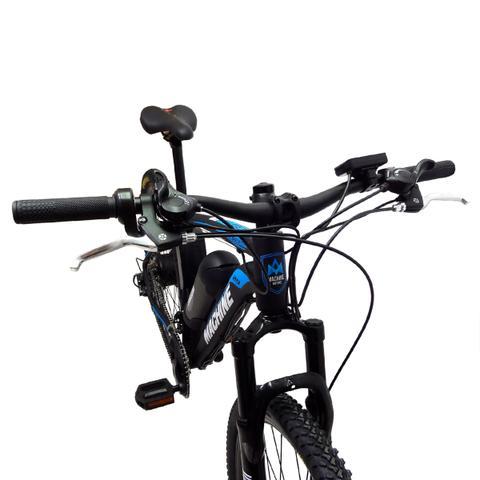 Imagem de Bicicleta Elétrica Machine Motors Liberty 350W 36V Preto/Azul