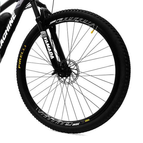 Imagem de Bicicleta Elétrica Machine Motors Liberty 350W 36V Preto/Prata