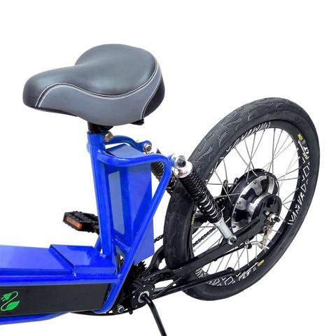 Imagem de Bicicleta Elétrica Machine Motors Premium 800W 48V Azul