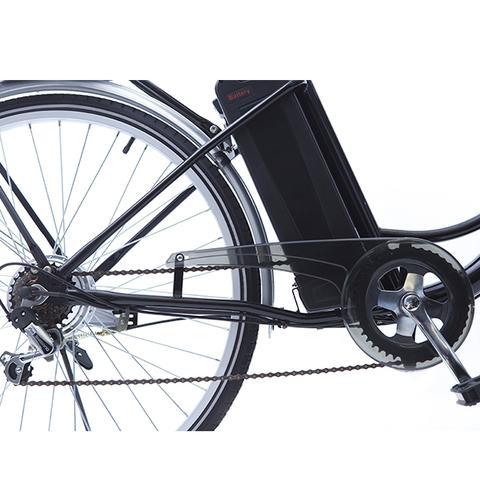 Imagem de Bicicleta Elétrica Pegasus Preta  Echo Vintage