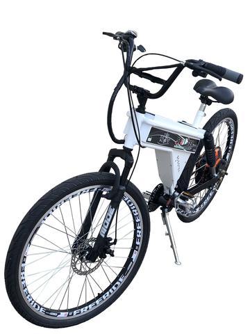 Imagem de Bicicleta Elétrica Scooter Brasil 850W Sport MTB Branca