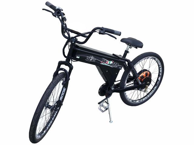 Imagem de Bicicleta Elétrica Scooter Brasil 850W Sport MTB Preta
