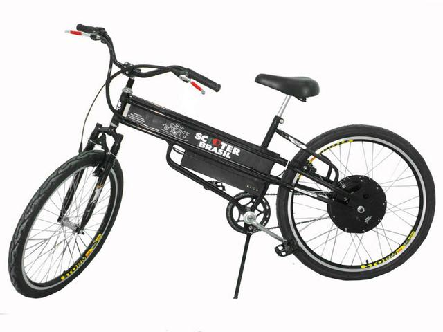 Imagem de Bicicleta Elétrica Scooter Brasil MTBCPT Aro 26