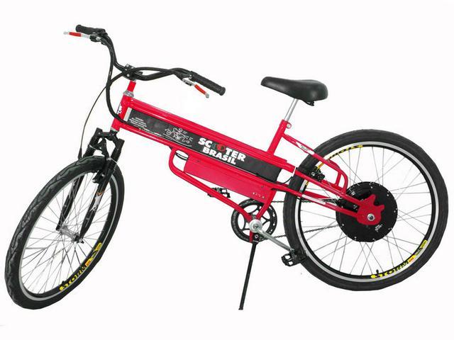 Imagem de Bicicleta Elétrica Scooter Brasil MTBCVM Aro 26