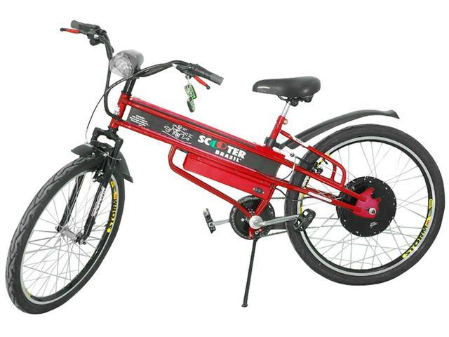 Imagem de Bicicleta Elétrica Scooter Brasil Pró Aro 26