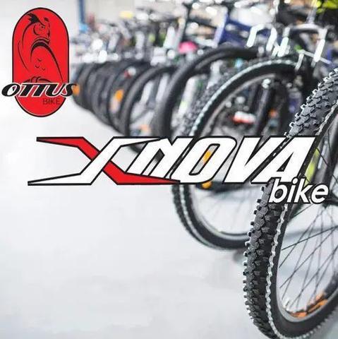 Imagem de Bicicleta em Aço Carbono Preta Aro 29 18v Marchas Freio V-Brake - Xnova