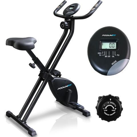 Imagem de Bicicleta Ergométrica Dobravel Podiumfit Xb100 Magnetica