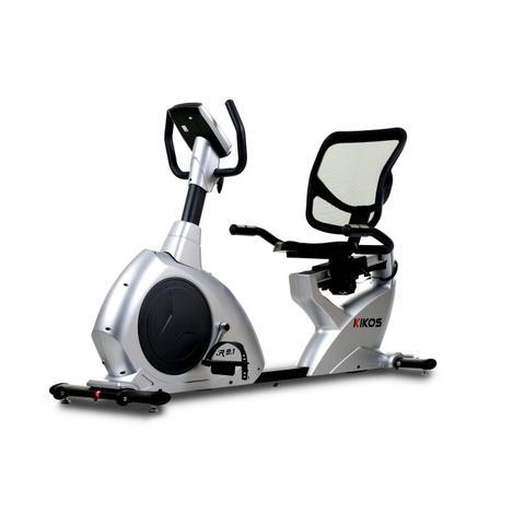 Imagem de Bicicleta Ergométrica Horizontal KR9 1 Kikos Fitness KW Cinza/Preto