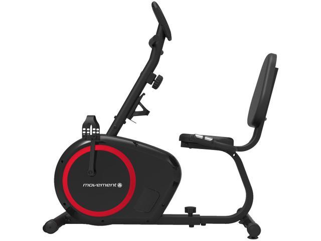 Imagem de Bicicleta Ergométrica Horizontal Movement H2