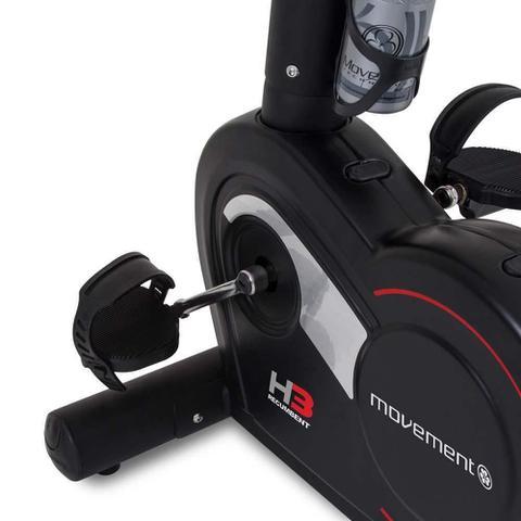 Imagem de Bicicleta Ergométrica Horizontal Movement H3 Preta
